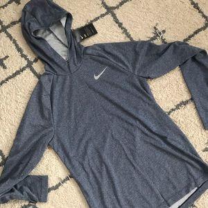 Men's Nike Dri-fit hooded long sleeve